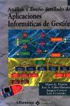 Análisis y diseño detallado de aplicaciones informáticas de gestión