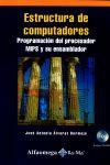 Estructura de computadores : programación del procesador MIPS y su ensamblador